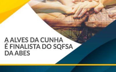 Alves da Cunha Finalista do SQFSA da Abes